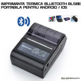 Mini Imprimanta portabila bluetooth BL58E ANDROID / IOS / WINDOWS