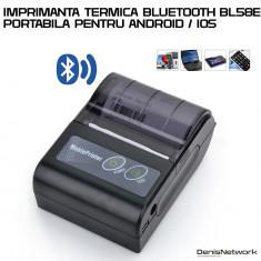 Mini Imprimanta portabila bluetooth BL58E ANDROID / IOS / WINDOWS
