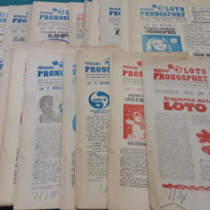PROGRAMUL LOTO PRONOSPORT 1986*1988/ 53 NUMERE DIFERITE