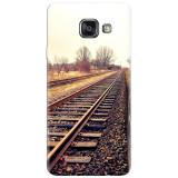 Husa silicon pentru Samsung Galaxy A7 2016, Railroad