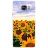 Husa silicon pentru Samsung Galaxy A7 2016, Sunflowers
