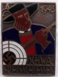 INSIGNA NAZISTA, ANUL 1943? CONCURS DE TIR,  INNSBURG, SUPERBA !!, Europa