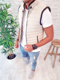 Vesta bej - PREMIUM - vesta fas - vesta barbati - COLECTIE NOUA - A2232 N6-2, L, M, S, XL, Sport