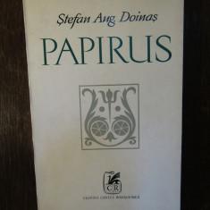 PAPIRUS. VERSURI- STEFAN AUG. DOINAS