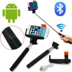 Selfie stick telefon Z07-5 Bluetooth  extensibil 100cm C229