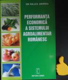 Performanta economica a sistemului agroalimentar romanesc Ion Raluca Andreea