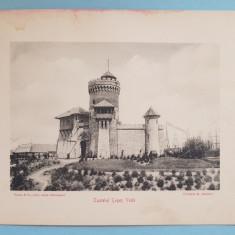 Expozitia 1906 Bucuresti - Castelul Tepes Voda- 17x13 cm