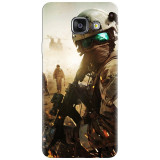 Husa silicon pentru Samsung Galaxy A7 2016, Battlefield