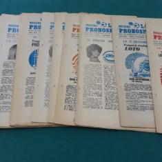 PROGRAMUL LOTO PRONOSPORT 1985* 25 NUMERE DIFERITE