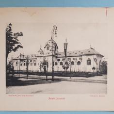 Expozitia 1906 Bucuresti - Palatul Industriei- 17x13 cm
