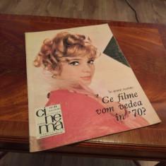 Revista Cinema Nr. 11 Din 1969 Noiembrie