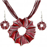 Set bijuterii model floare