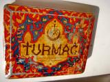 7395-Turmac Turkish Macedonian Tobacco Co. Cutie Tigarete veche.
