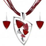 Set bijuterii triunghi