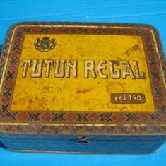Cutie Tutun Regal Romania regalista. Casa Autonoma a Monopolurilor.