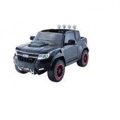 Masinuta electrica cu telecomanda 2,4Ghz Invincible Jeep Offroad Black