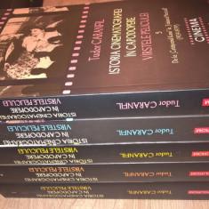 Istoria cinematografiei in capodopere -Virstele peliculei 5 vol - Tudor Caranfil