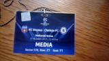 Acreditare meci de fotbal Steaua - Chelsea 1 octombrie 2013