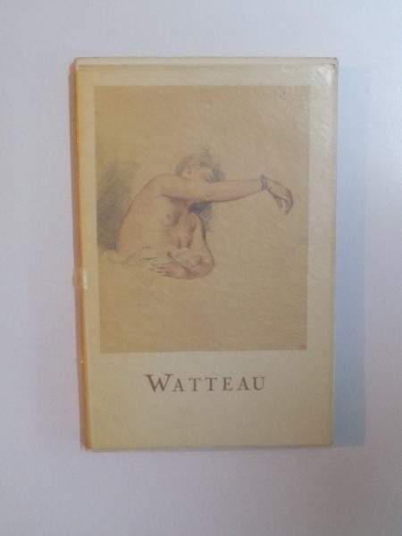 LES DESSINS de WATTEAU PAR JACQUELINE BOUCHOT - SAUPIQUE , 1953
