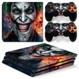 Skin / Sticker JOKER Playstation 4 PS4 SLIM / PRO, Huse si skin-uri