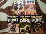 DUNE/COPIII/MANTUITORUL DUNEI-FRANK HERBERT (5 VOL)