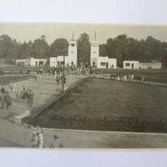 Rara! Fotografie model carte postala strandul Kiseleff Bucuresti anii 30, Necirculata