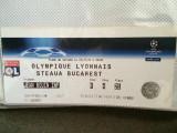 Bilet fotbal Ol. Lyon - Steaua 2008