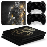Skin / Sticke Real Madrid Playstation 4 PS4 PRO / SLIM / FAT+ 2 Skin controller, Huse si skin-uri