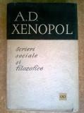 A. D. Xenopol - Scrieri sociale si filozofice