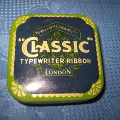 Columbia Classic Typewriter ribbon-Cutie veche ace masina scris.