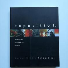 Catalog voluminos celebrul fotograf Borsos Mihaly-Prima expozitie, Budapesta