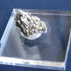 Specimen minerale - STIBINA SI CALCITA  (T1)