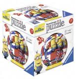 PUZZLE 3D MINIONS, 54 PIESE, Ravensburger