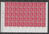 Finlanda 1945, bloc de 50 timbre MNH, Nestampilat