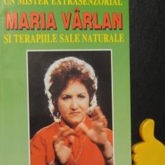 Un mister extrasenzorial Maria Varlan si terapiile sale naturale Ion Tugui