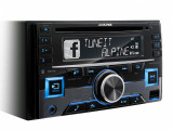 RadioCD Alpine 2 DIN cu bluetooth si slot USB Alpine CDE-W296BT