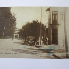 Carte postala foto Oltenita-Restaurant/Bauturi,circulata 1930, Fotografie