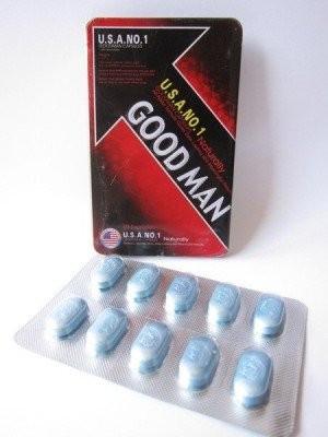 GOOD MAN NO.1 | pastile de potenta pentru erectii de durata
