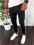 Pantaloni de trening negri - LICHIDARE DE STOC - A2237 B10-2