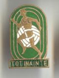 TOT INAINTE - SPORTIV   - Insigna PIONIERI 1970 - VARIANTA - EMAIL SUPERBA