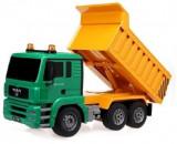 Camion MAN Cu Telecomanda, scara 1.20, 2-4 ani, Electrice, Plastic, D-Toys