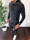 Trening barbati gri PREMIUM - Bluza + Pantaloni - COLECTIE NOUA - A2245, L, XL