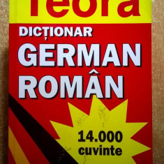 I. Sireteanu, E. Tomeanu - Dictionar german-roman {Teora, 2005}