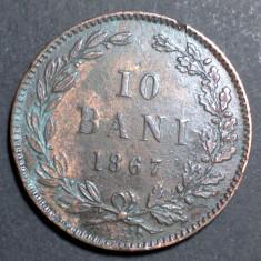10 bani 1867 1 Watt Co