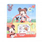 Set de colorat cu puzzle-uri Mickey, Disney
