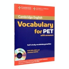 Cambridge Vocabulary for PET with Answers