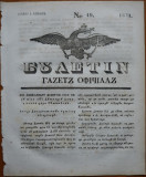 Ziarul Buletin , gazeta oficiala a Principatului Valahiei , nr. 19 , 1841