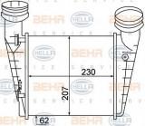 Intercooler, compresor VW PASSAT limuzina 1.9 TDI - HELLA 8ML 376 776-631