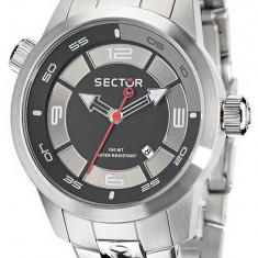Sector R3253102025 ceas barbati nou 100% original.  Garantie.Livrare rapida., Casual, Quartz, Otel