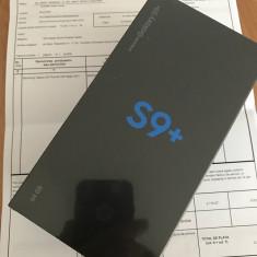 Samsung S9+ 64 GB, negru, neverlocked, sigilat, 64GB, Neblocat